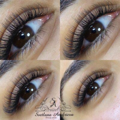 Eyelash extensions hos SA Beauty Studio